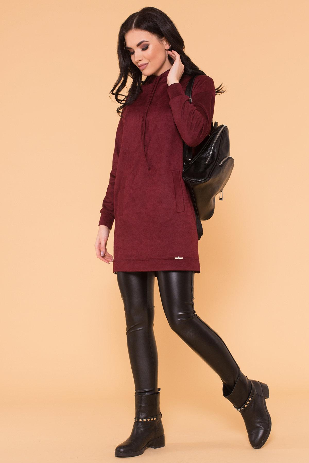 Платье Янг 5996 Цвет: Марсала