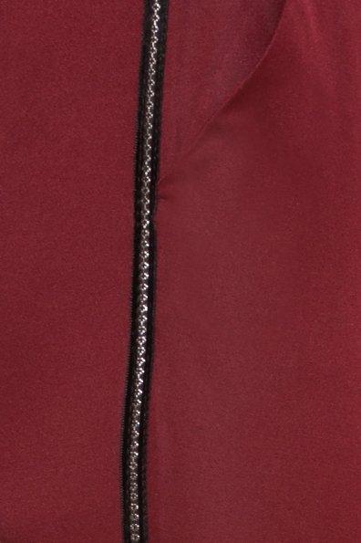 Брюки с ломпасами Стин 5963 Цвет: Марсала