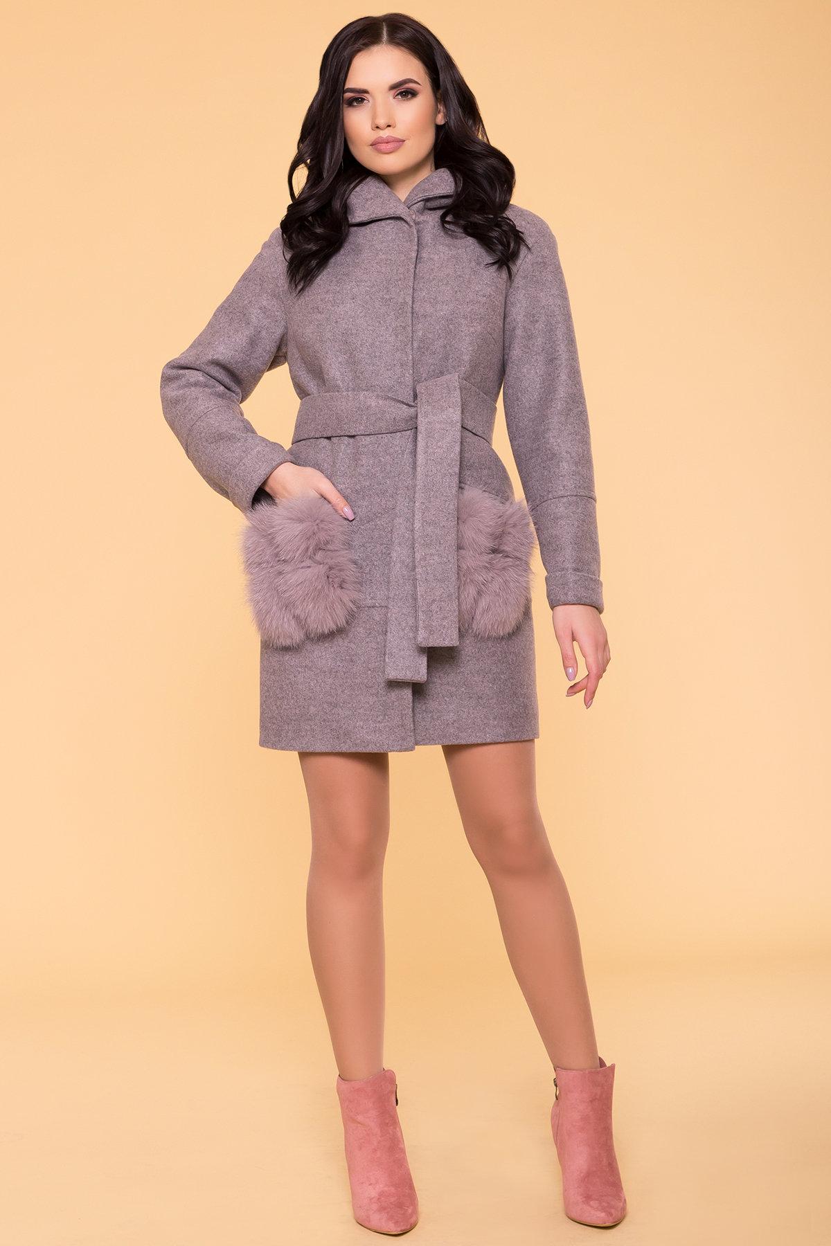 Пальто женское зимнее купить от Modus Зимнее пальто с меховыми карманами Анита 3820