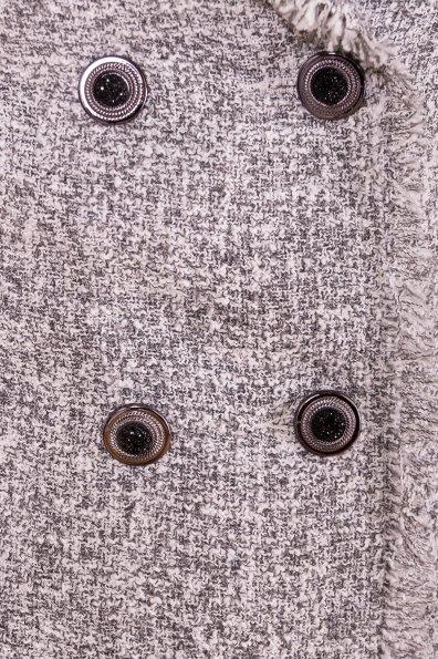 Серое Платье пиджак Коко 5859 Цвет: Серый меланж