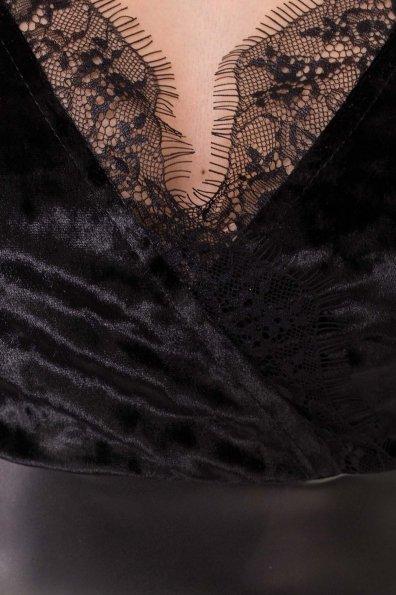 Платье Вайра 6111 Цвет: черный/черный
