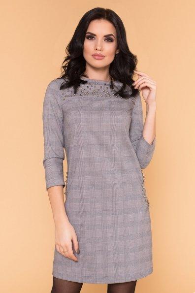 Платье Мими 6255 Цвет: Серый Светлый