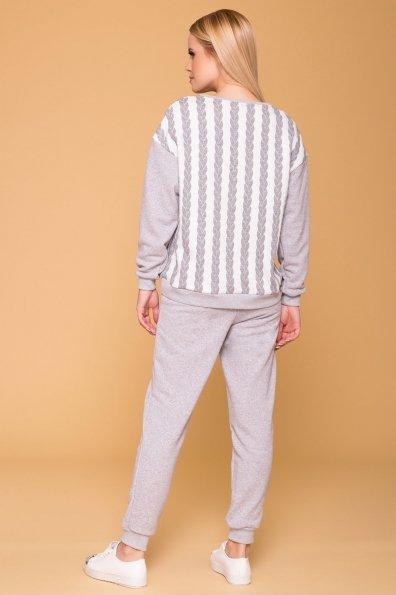 Костюм Вей 6108 Цвет: Серый/серый коса