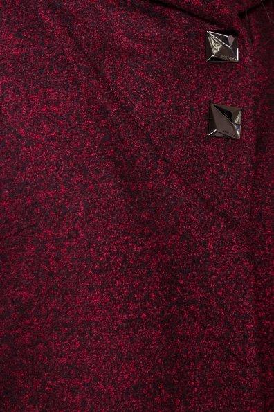 Пальто зима Делфи 1349 Цвет: Бордо/черный