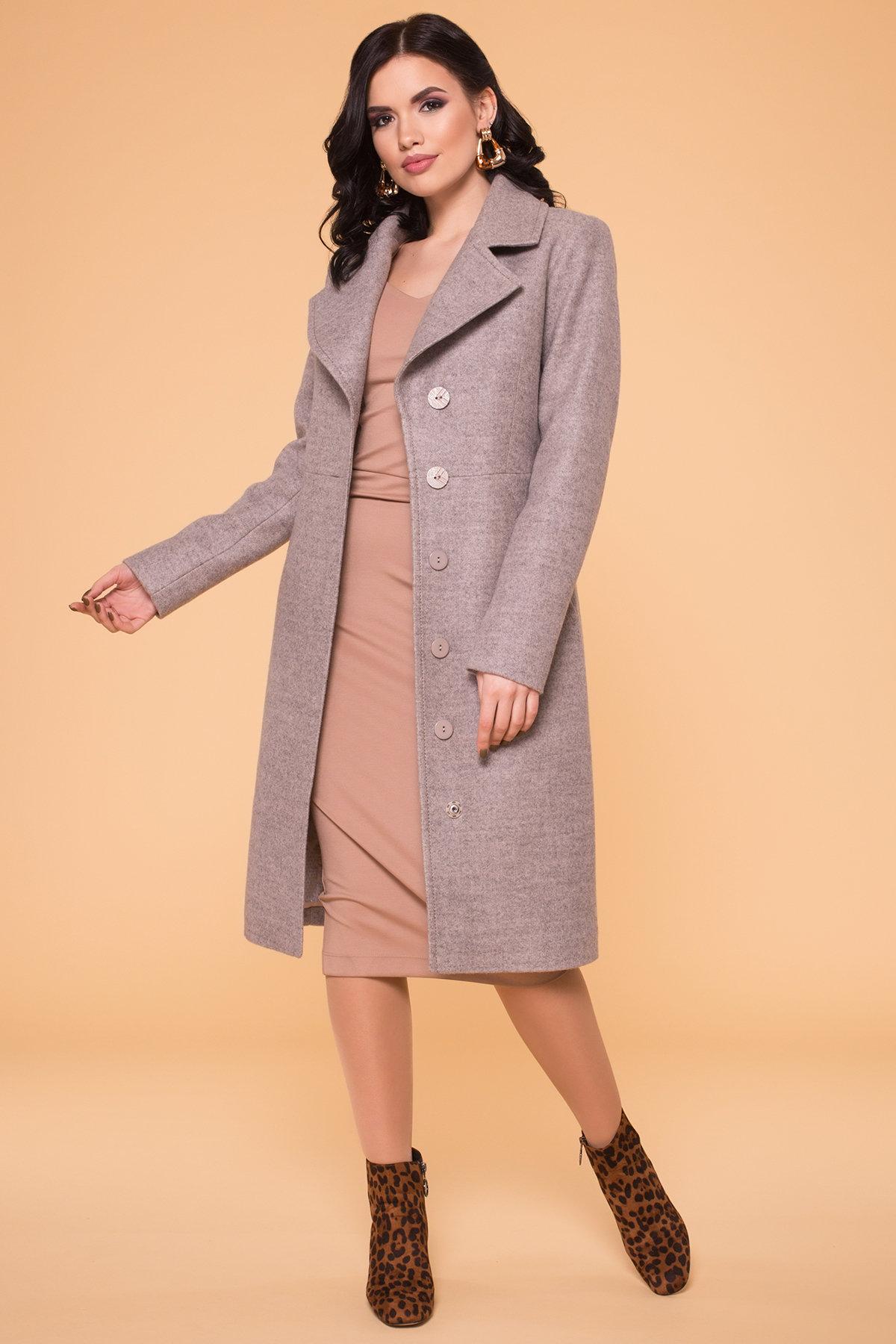 Пальто Камила 6173 АРТ. 40986 Цвет: Бежевый 31 - фото 4, интернет магазин tm-modus.ru