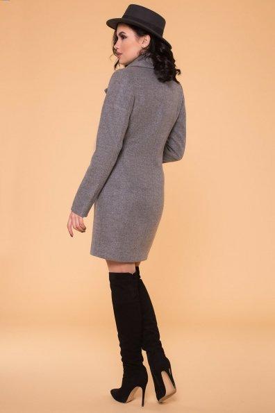 Пальто Камила 5373 Цвет: Серый 18