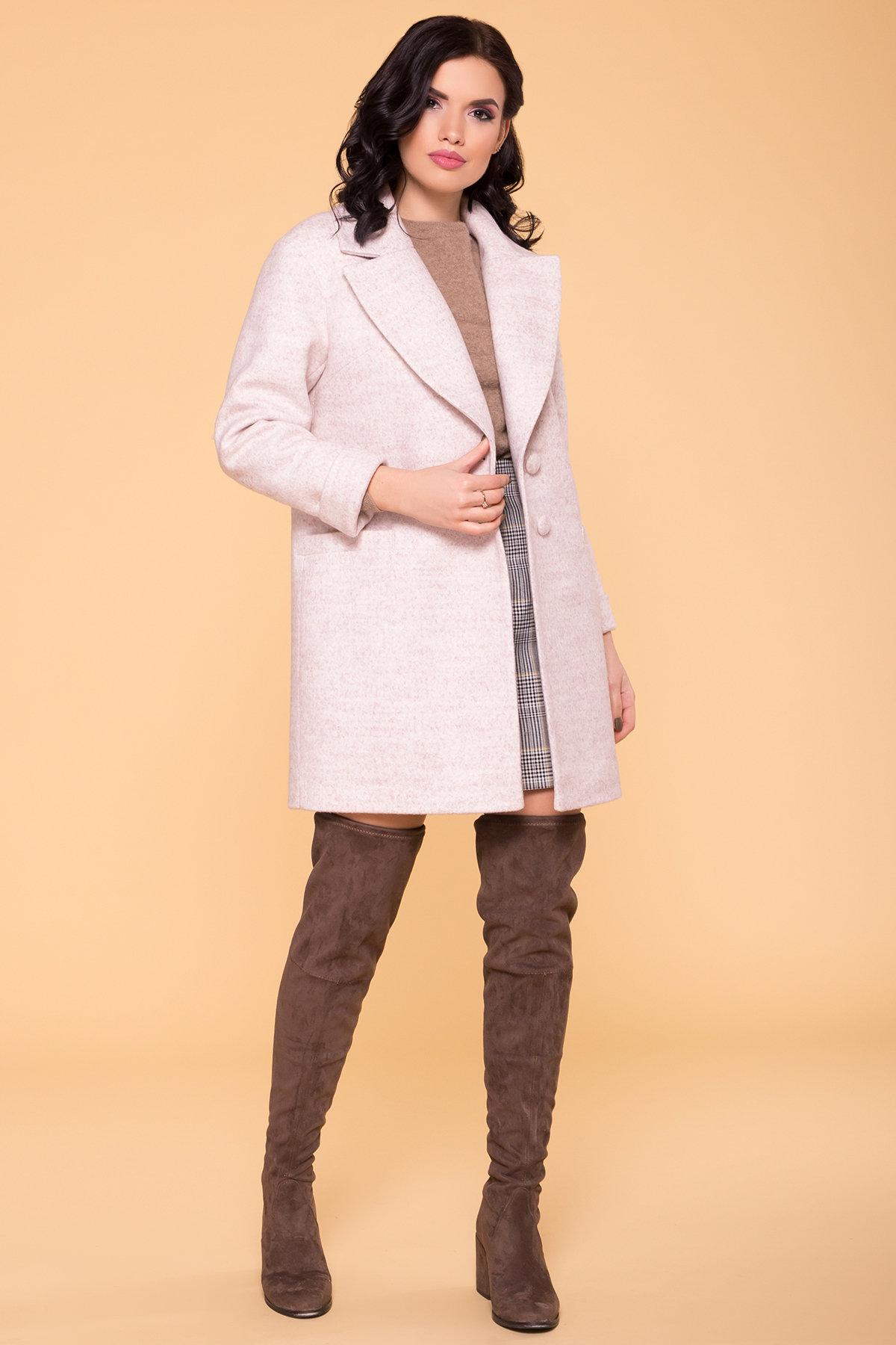Пальто Вива 4558 АРТ. 21904 Цвет: Бежевый 21 - фото 3, интернет магазин tm-modus.ru