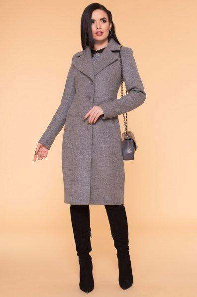 Пальто Камила 6173 Цвет: Серый 18