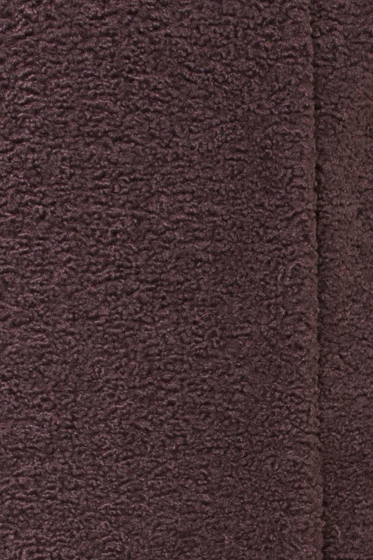 Пальто меховое зима Приора 6011 АРТ. 40971 Цвет: Шоколад - фото 6, интернет магазин tm-modus.ru