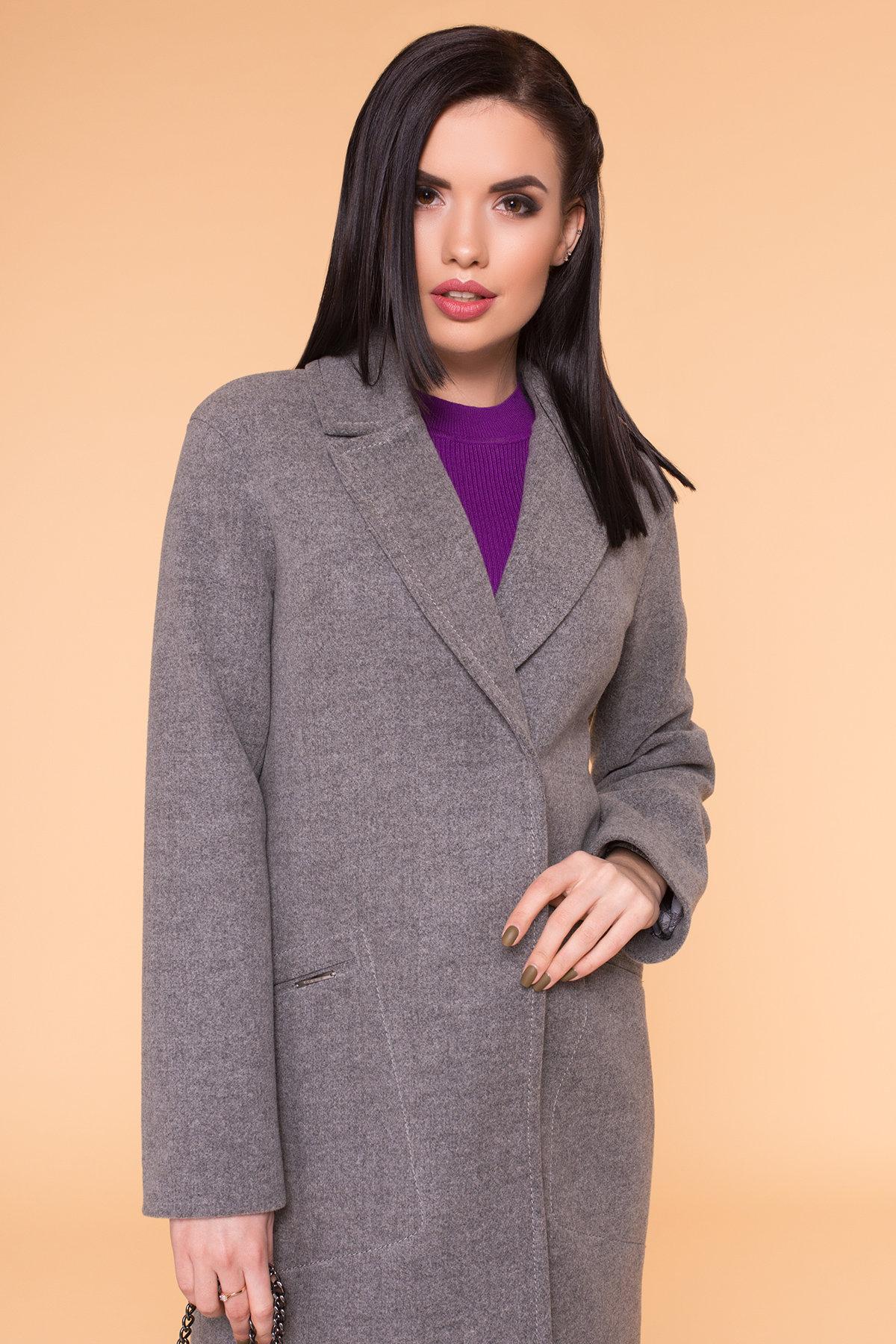 Пальто Ждана Лайт 6231 Цвет: Серый 18