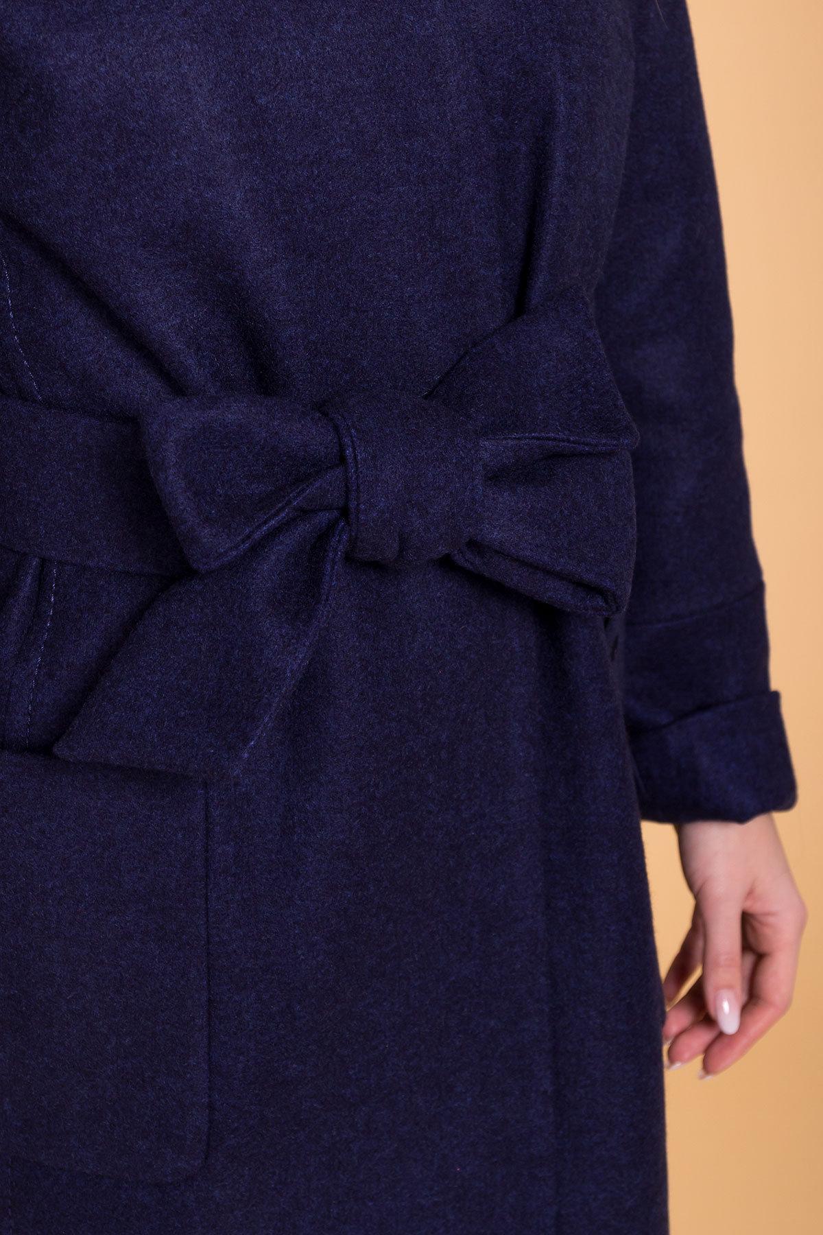 Пальто Кристина лайт 6170 Цвет: Т.синий 17