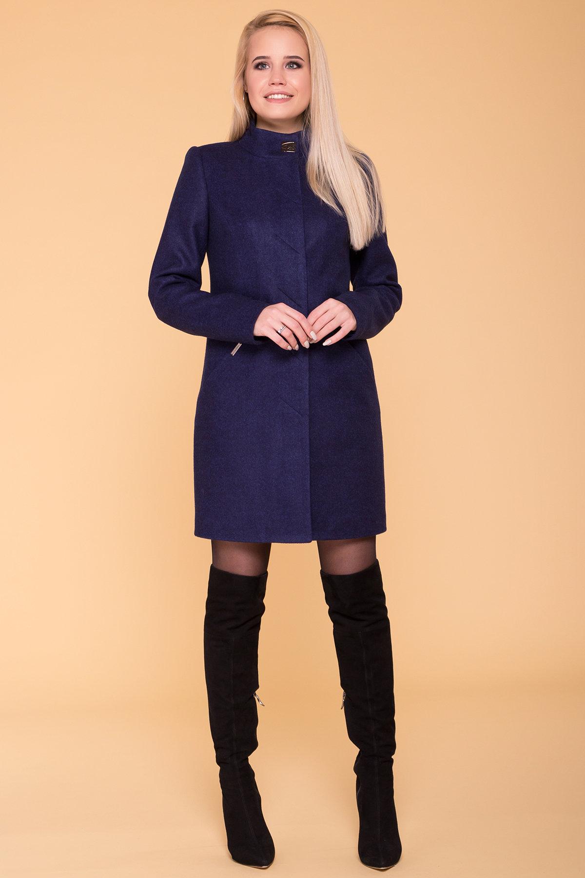 Пальто Сплит 4374 АРТ. 37660 Цвет: Темно-синий 17 - фото 4, интернет магазин tm-modus.ru