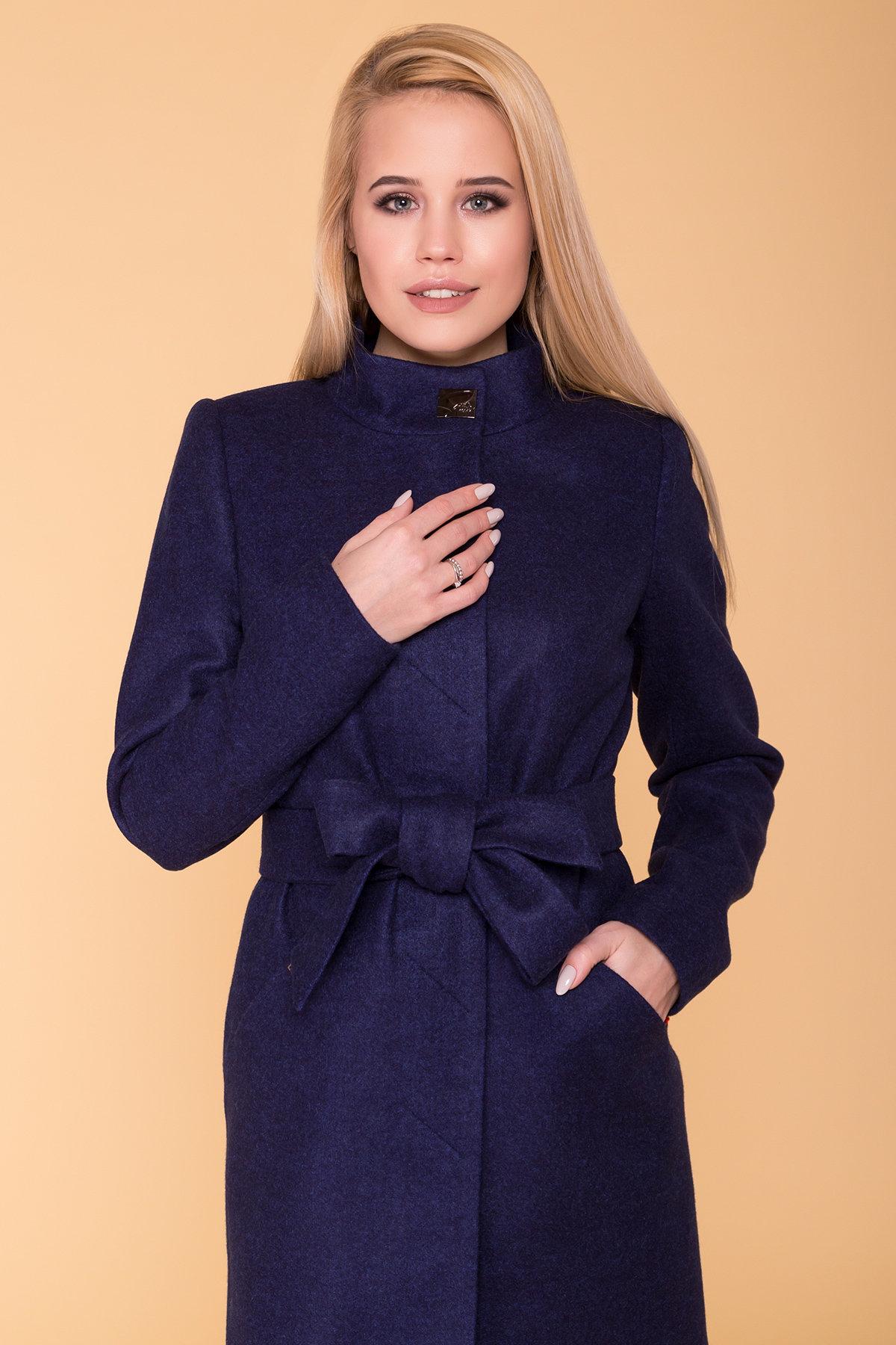Пальто Сплит 4374 АРТ. 37660 Цвет: Темно-синий 17 - фото 5, интернет магазин tm-modus.ru