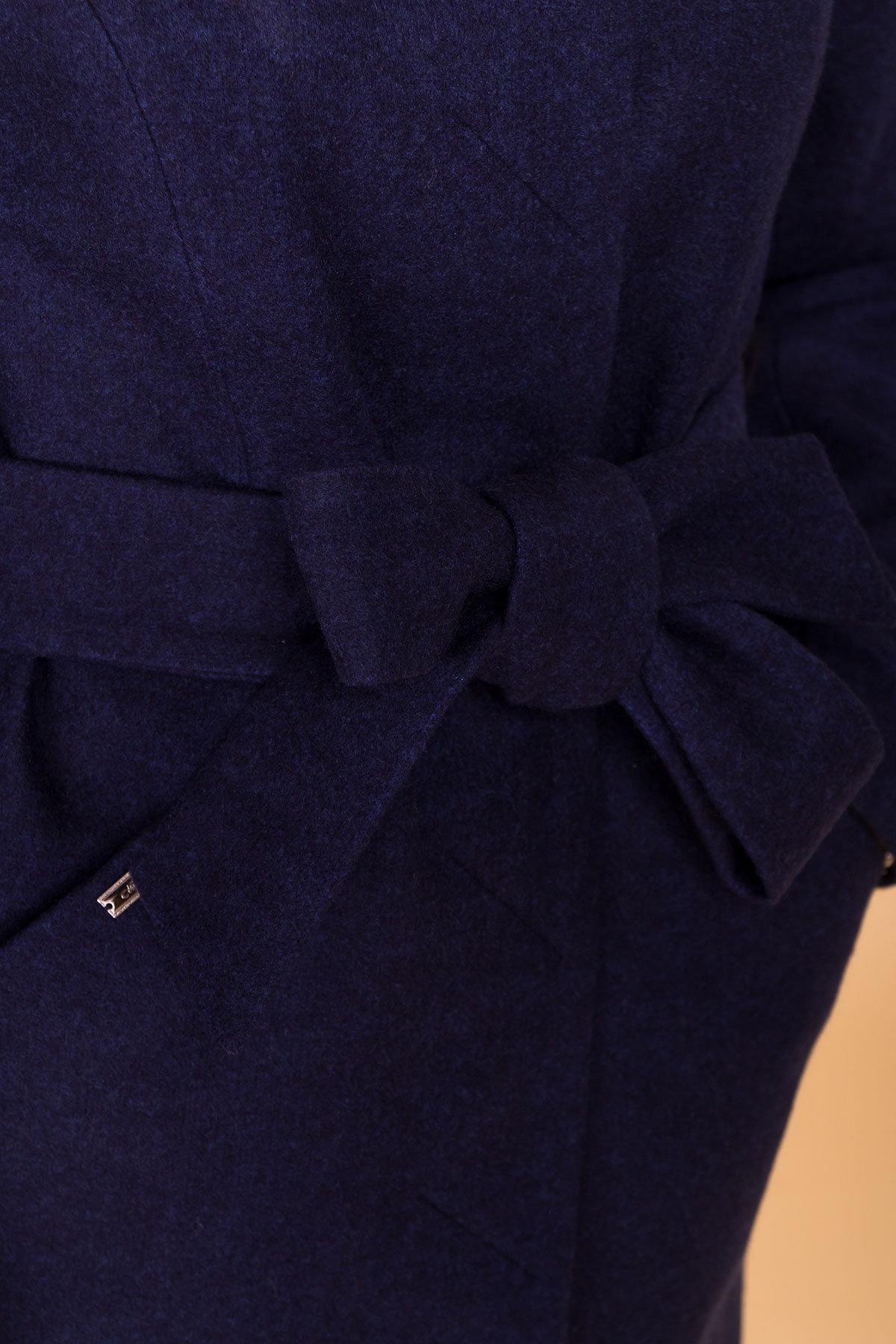 Пальто Сплит 4374 АРТ. 37660 Цвет: Темно-синий 17 - фото 6, интернет магазин tm-modus.ru