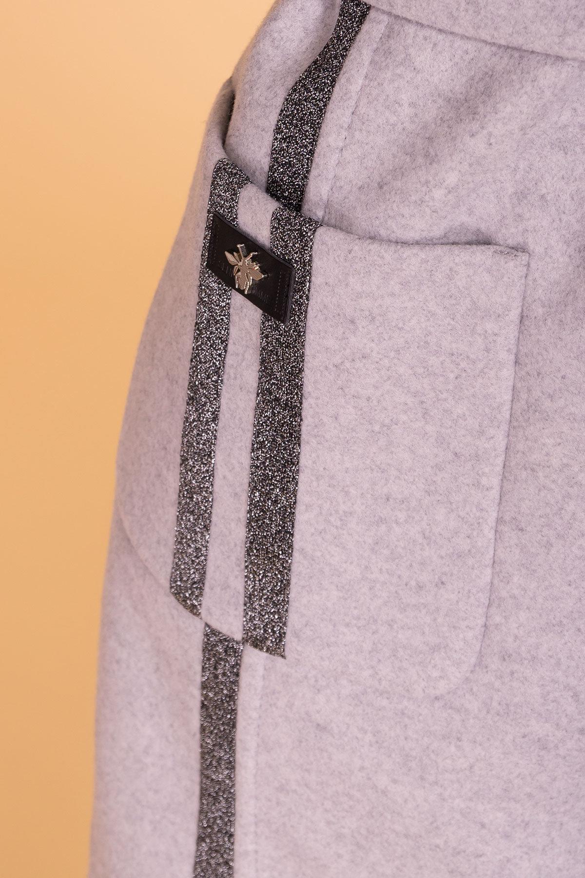 Пальто Приоритет лайт 6307 АРТ. 41093 Цвет: Серый Светлый 27 - фото 6, интернет магазин tm-modus.ru