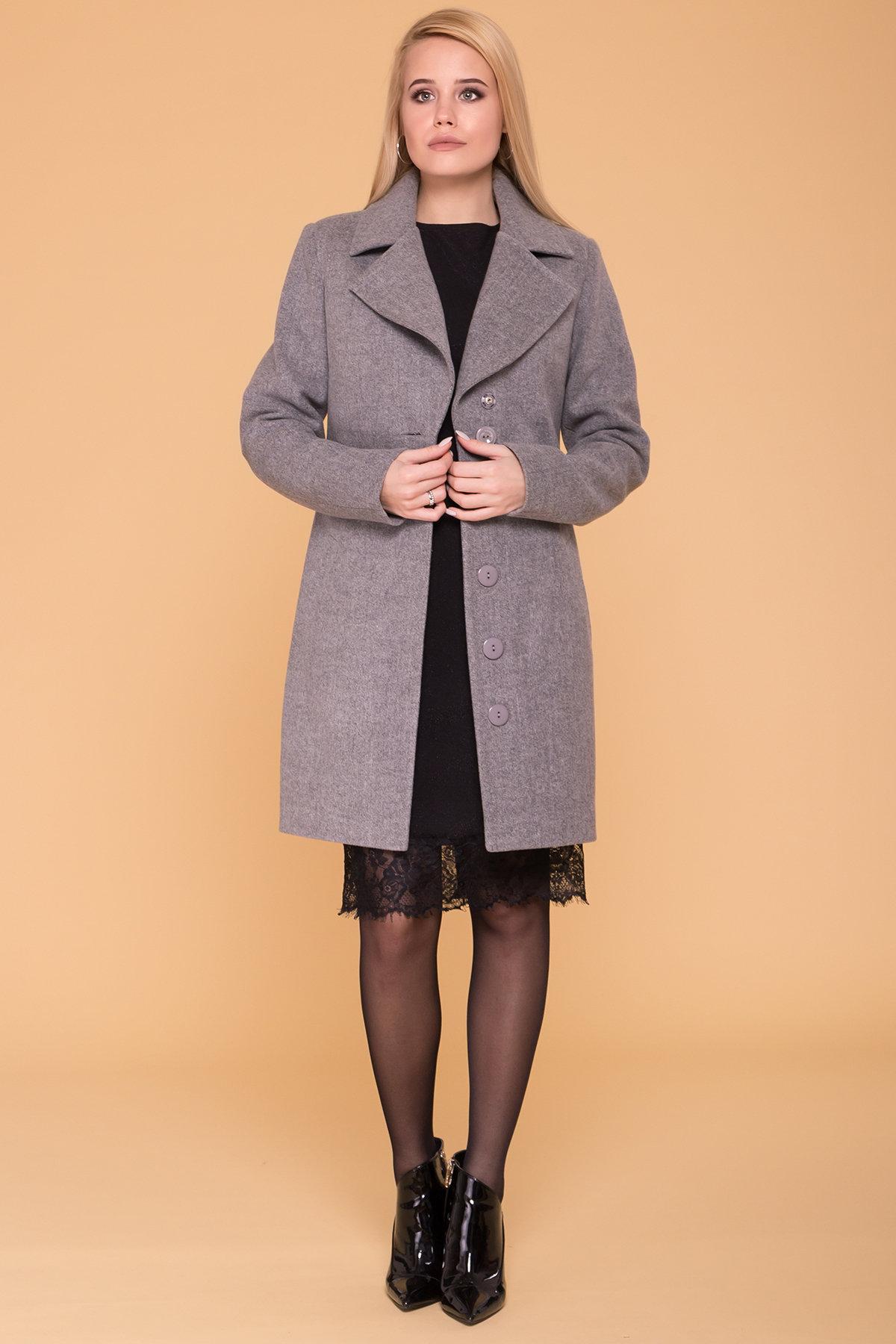 Пальто Габриэлла 5558 Цвет: Серый 18