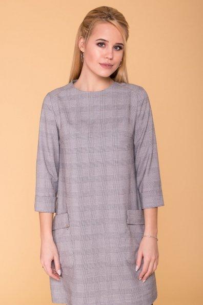 Платье с накладными карманами Соул 6305 Цвет: Серый Светлый