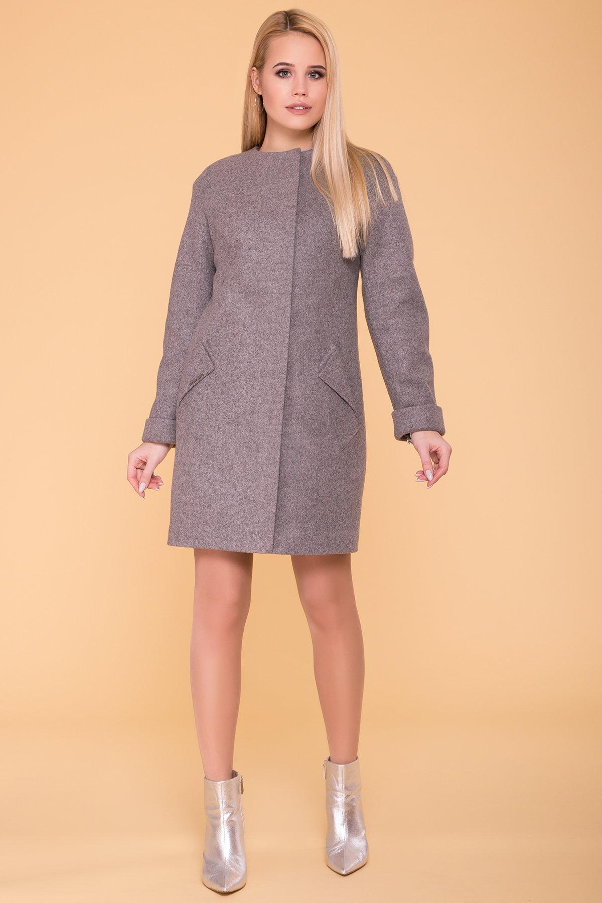 Пальто Кимберли 6101 АРТ. 41069 Цвет: Карамель 20/1 - фото 3, интернет магазин tm-modus.ru