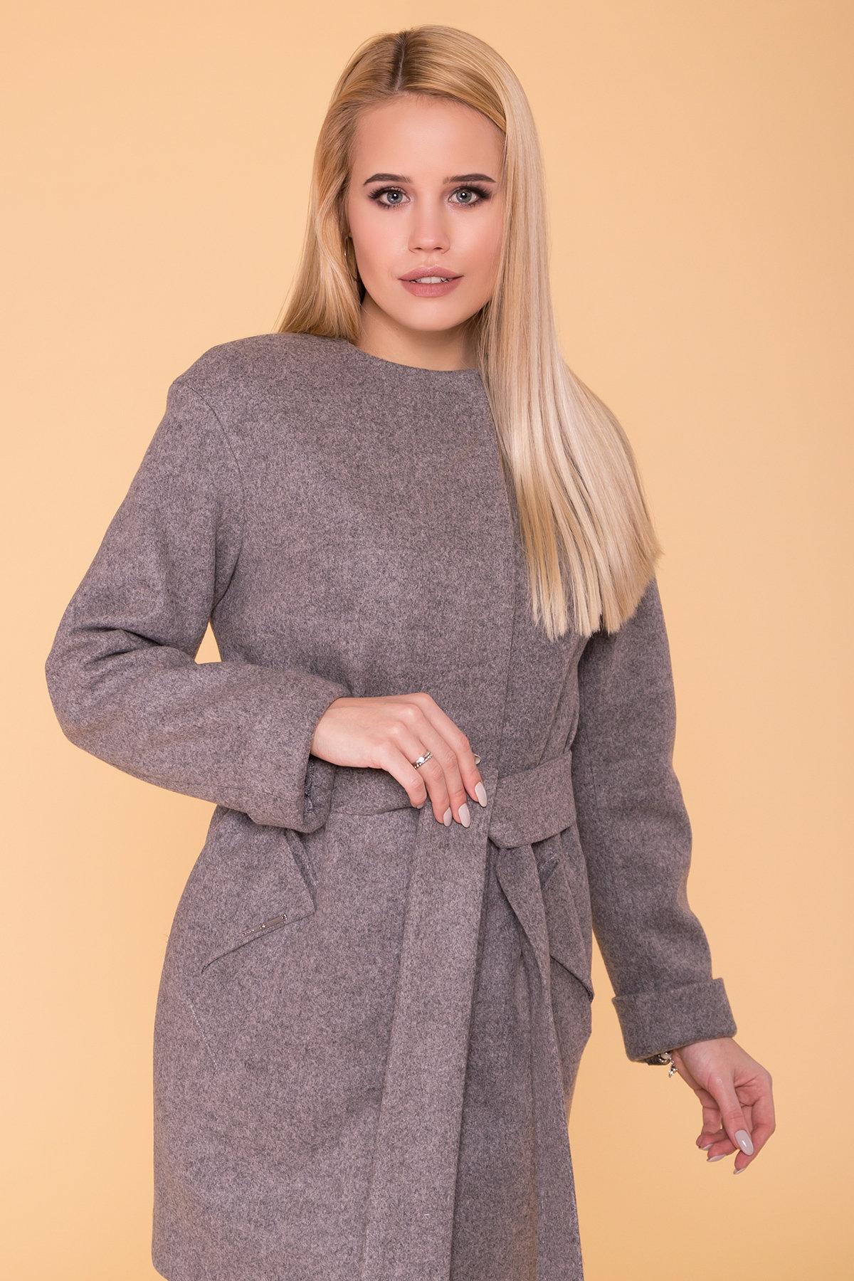 Пальто Кимберли 6101 АРТ. 41069 Цвет: Карамель 20/1 - фото 4, интернет магазин tm-modus.ru