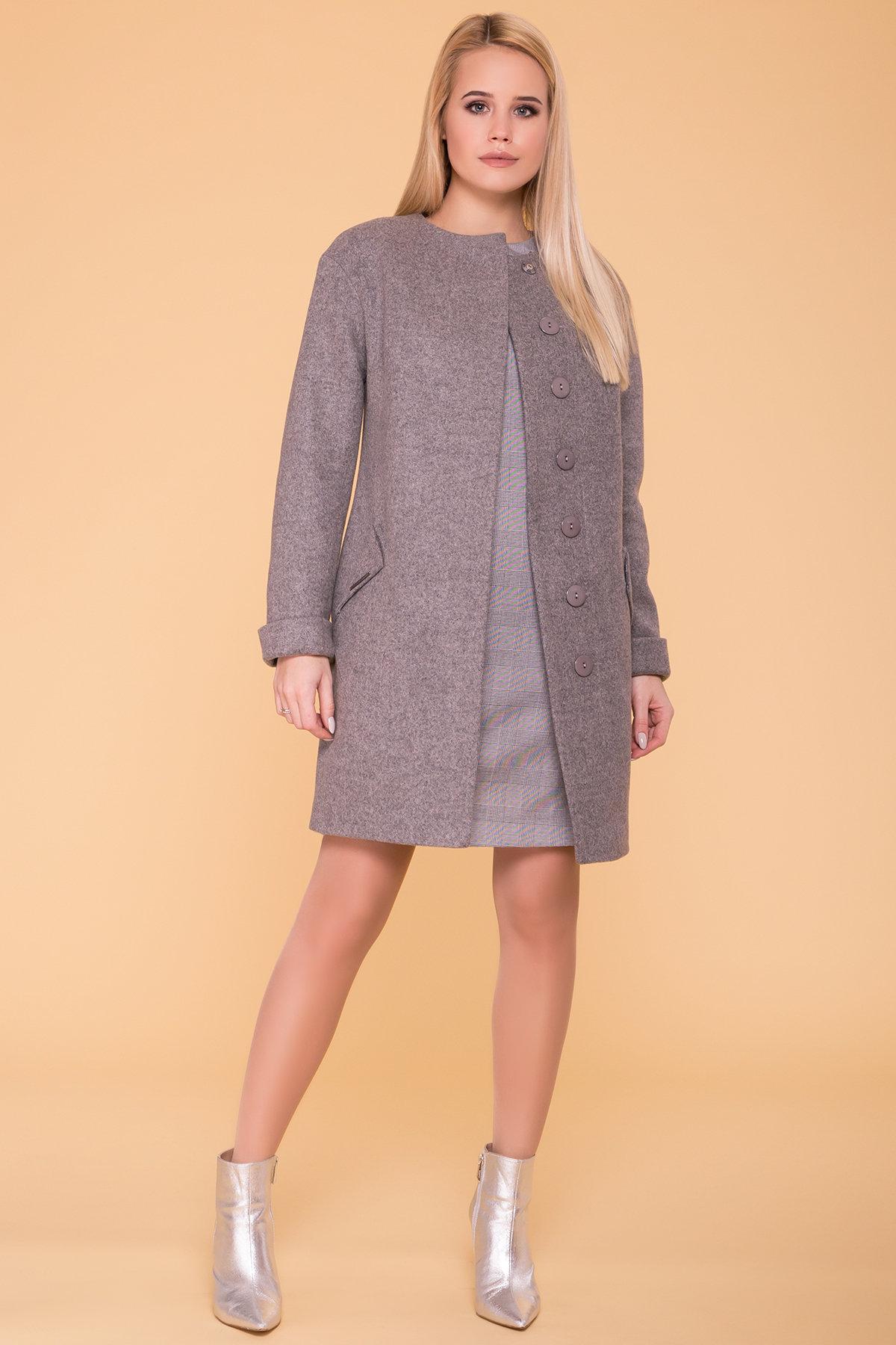 Пальто Кимберли 6101 АРТ. 41069 Цвет: Карамель 20/1 - фото 5, интернет магазин tm-modus.ru
