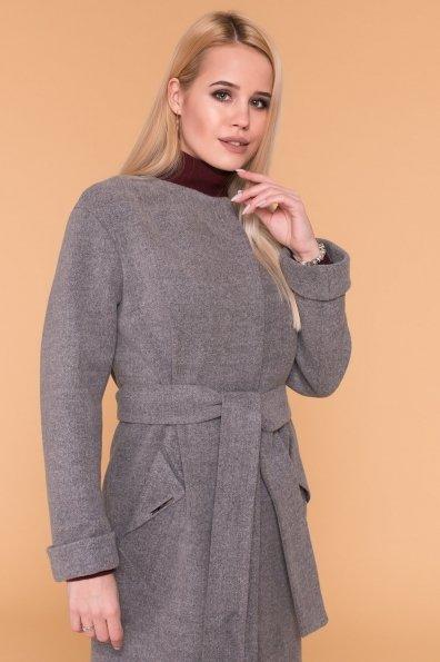 Пальто Кимберли 6101 Цвет: Серый 18