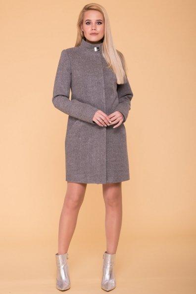Пальто Сплит 4374 Цвет: Серый 18