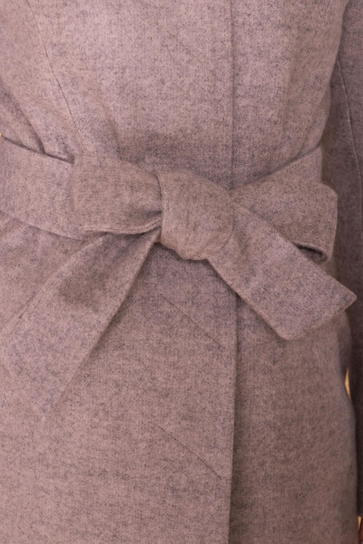 Пальто Сплит 4374 АРТ. 37658 Цвет: Бежевый 31 - фото 5, интернет магазин tm-modus.ru