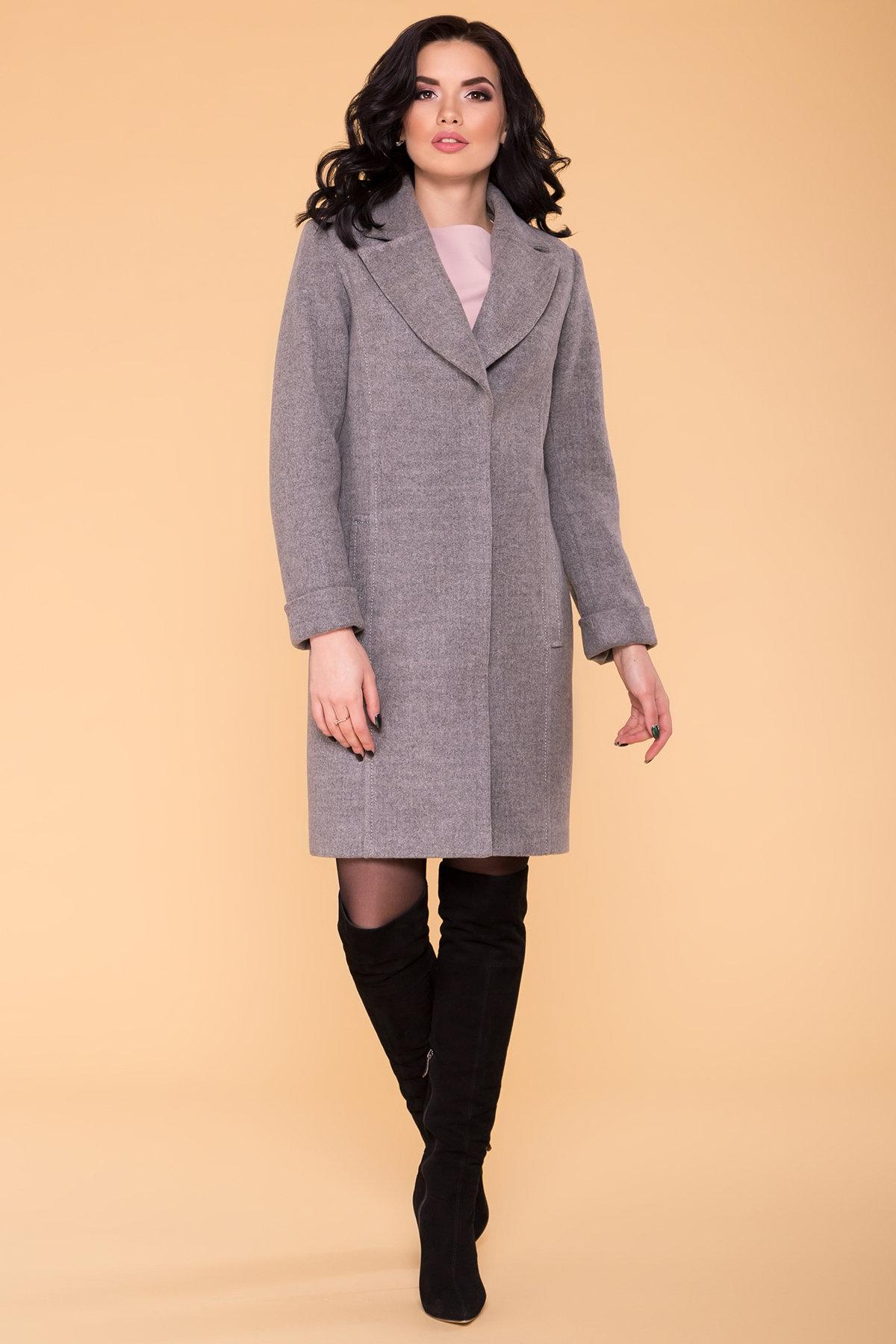 Пальто Лесли 6295 АРТ. 41079 Цвет: Серый 18 - фото 4, интернет магазин tm-modus.ru