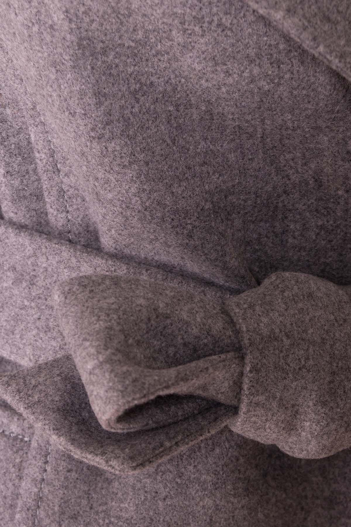 Пальто Лесли 6295 АРТ. 41079 Цвет: Серый 18 - фото 6, интернет магазин tm-modus.ru