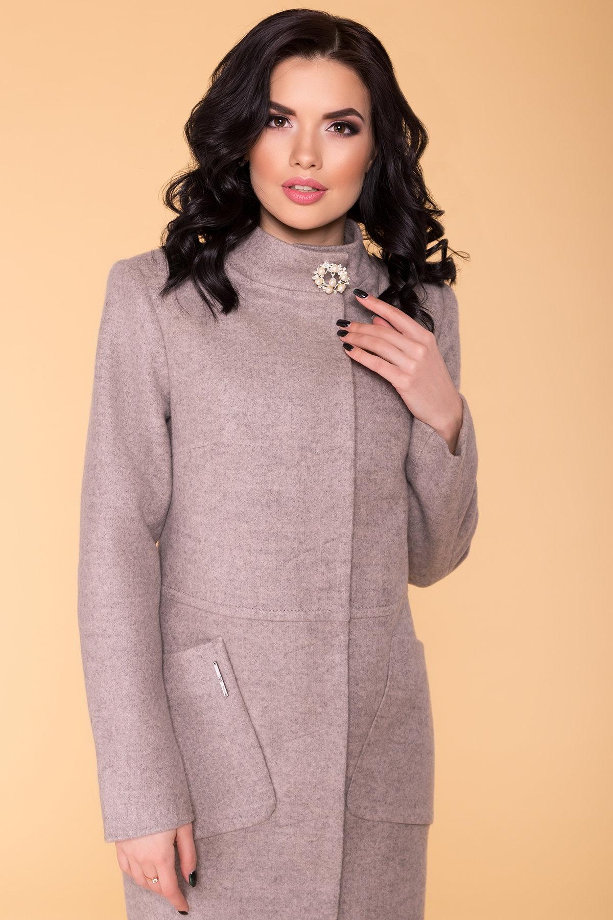 Пальто Габи 6330 АРТ. 41119 Цвет: Бежевый 31 - фото 4, интернет магазин tm-modus.ru