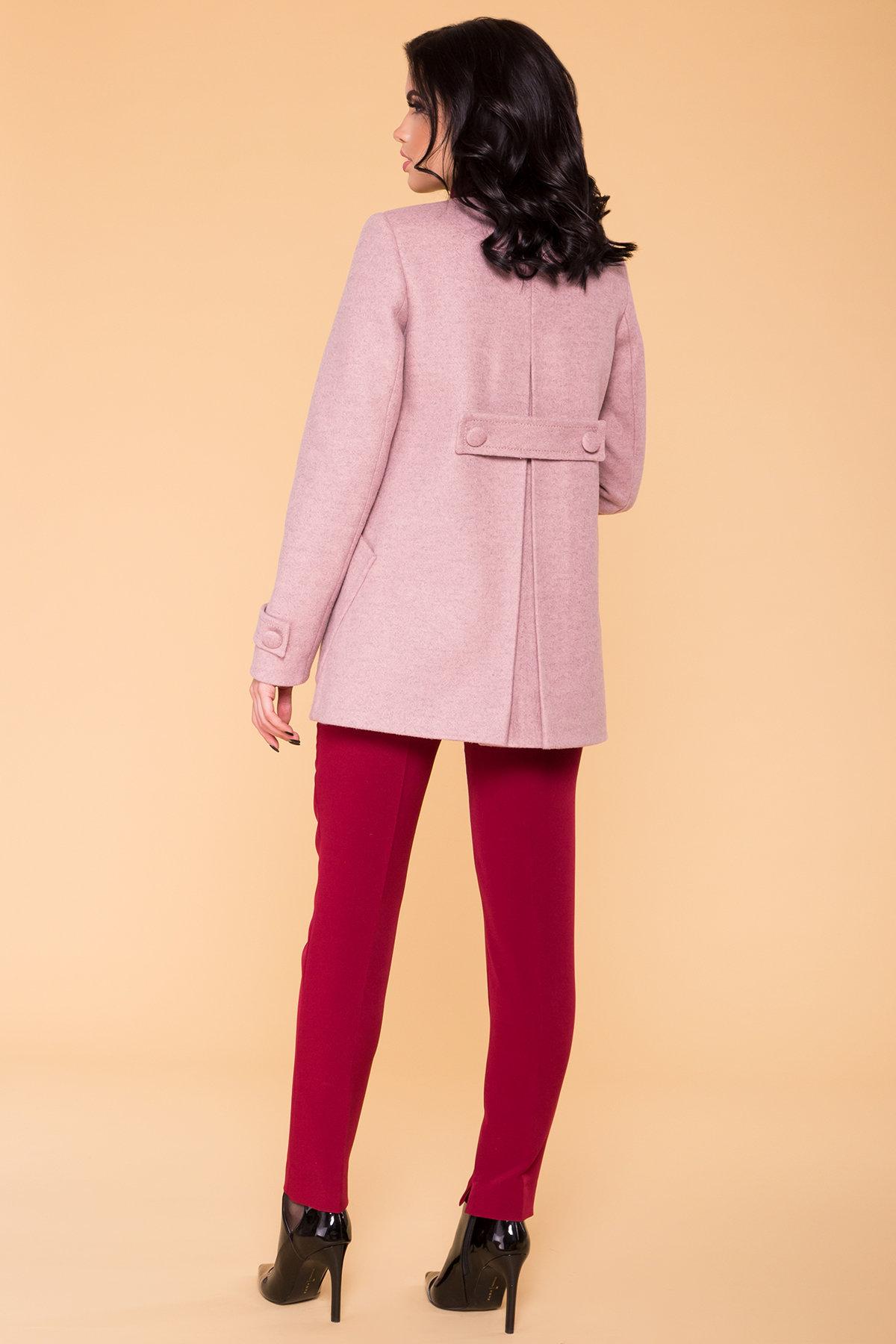 Пальто Латте 5637 АРТ. 41008 Цвет: Серо-розовый 7 - фото 2, интернет магазин tm-modus.ru