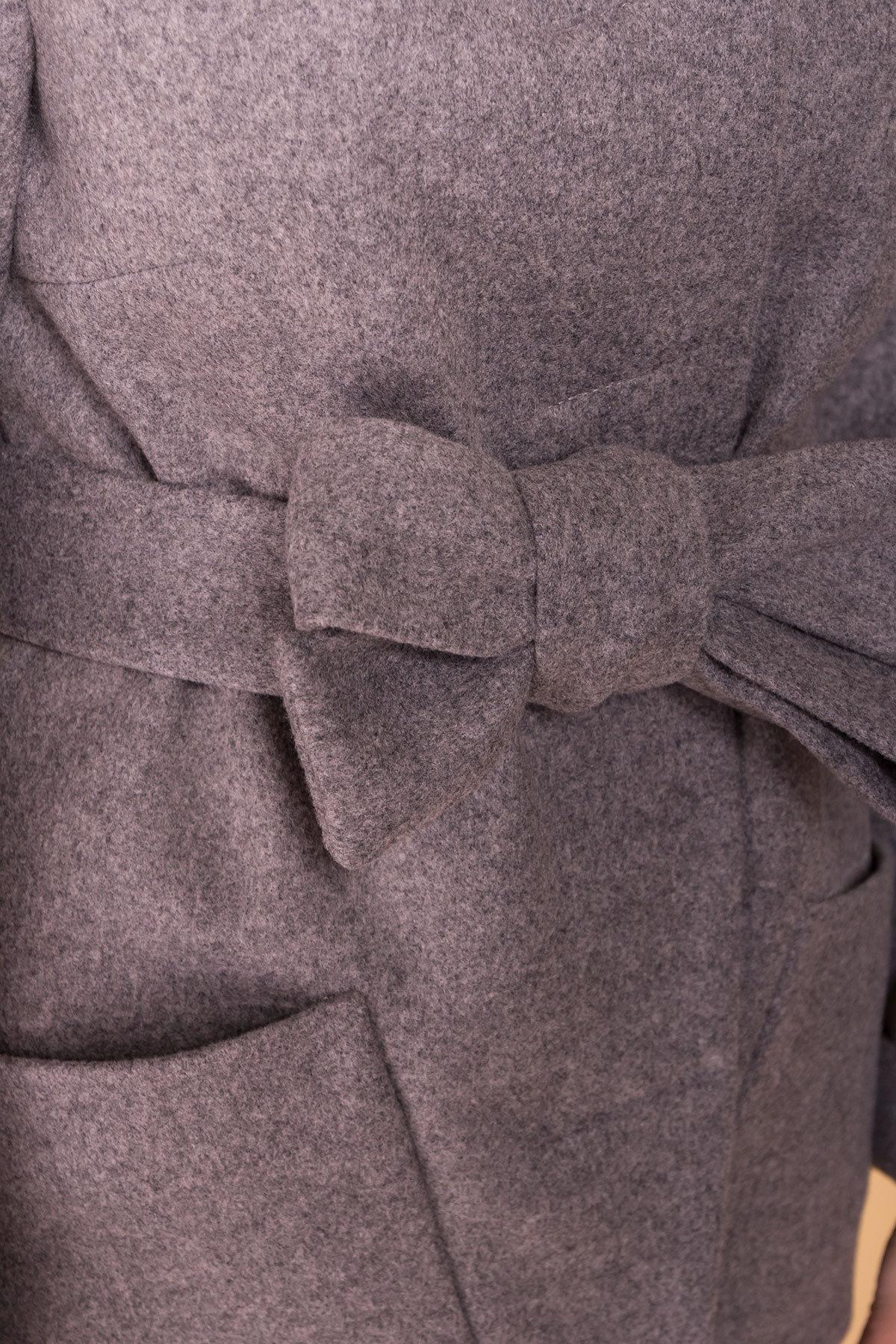 Пальто Анита 5325 Цвет: Карамель 20/1