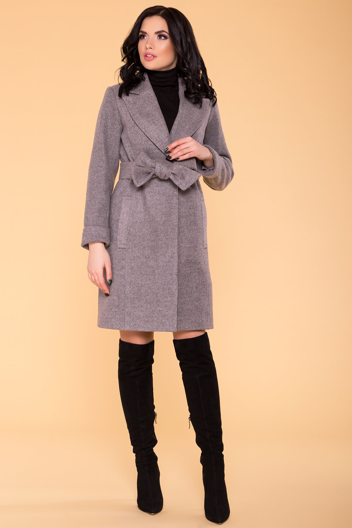 Демисезонное пальто купить Пальто Лесли 6295