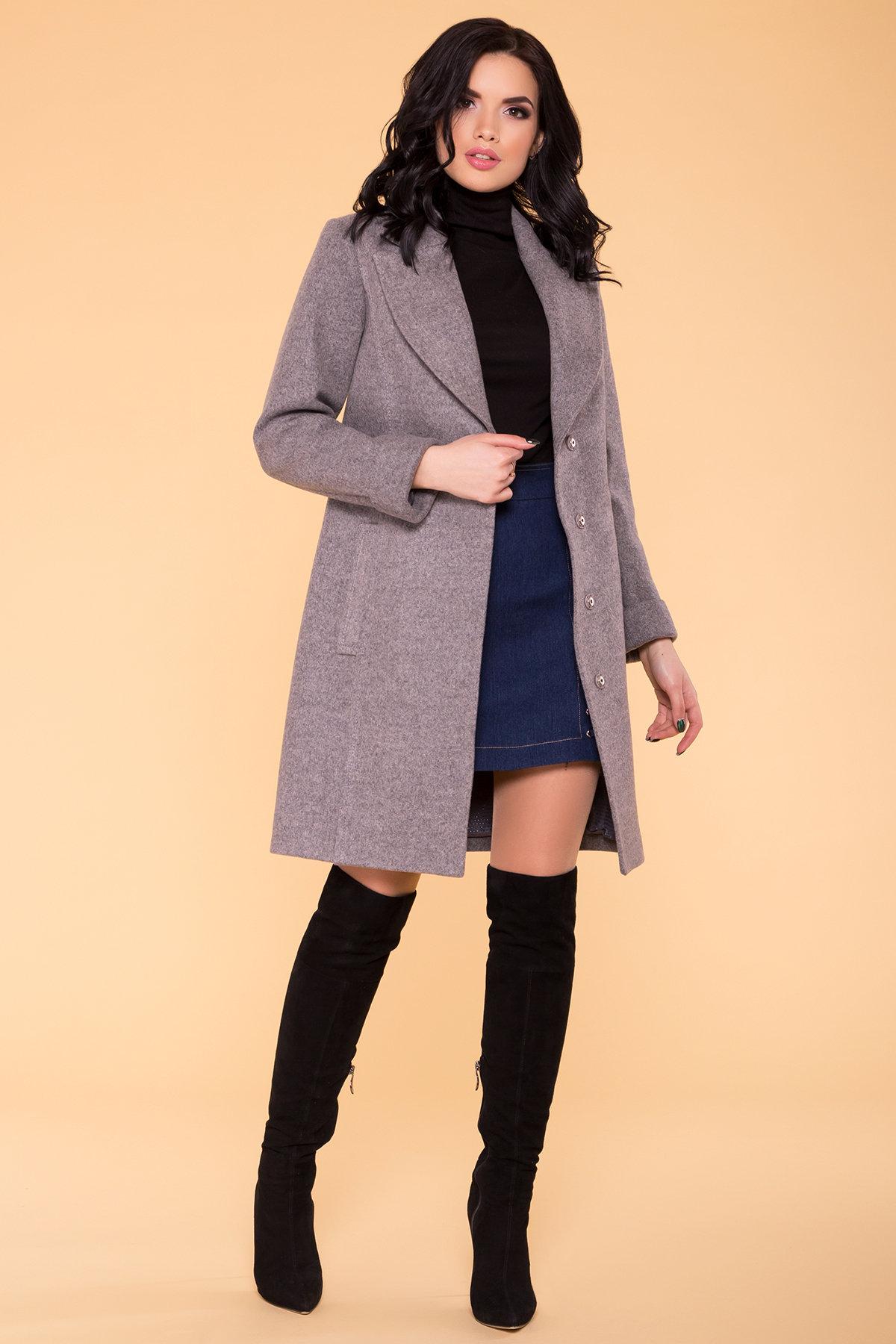 Пальто Лесли 6295 АРТ. 41118 Цвет: Карамель 20/1 - фото 3, интернет магазин tm-modus.ru
