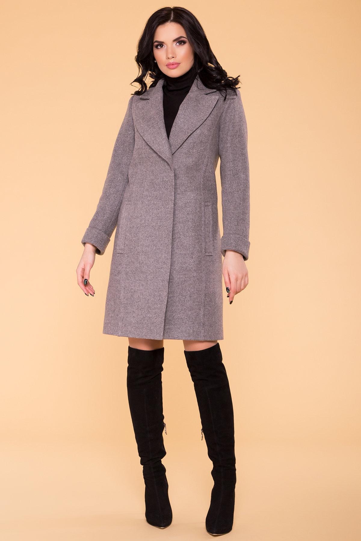 Пальто Лесли 6295 АРТ. 41118 Цвет: Карамель 20/1 - фото 4, интернет магазин tm-modus.ru