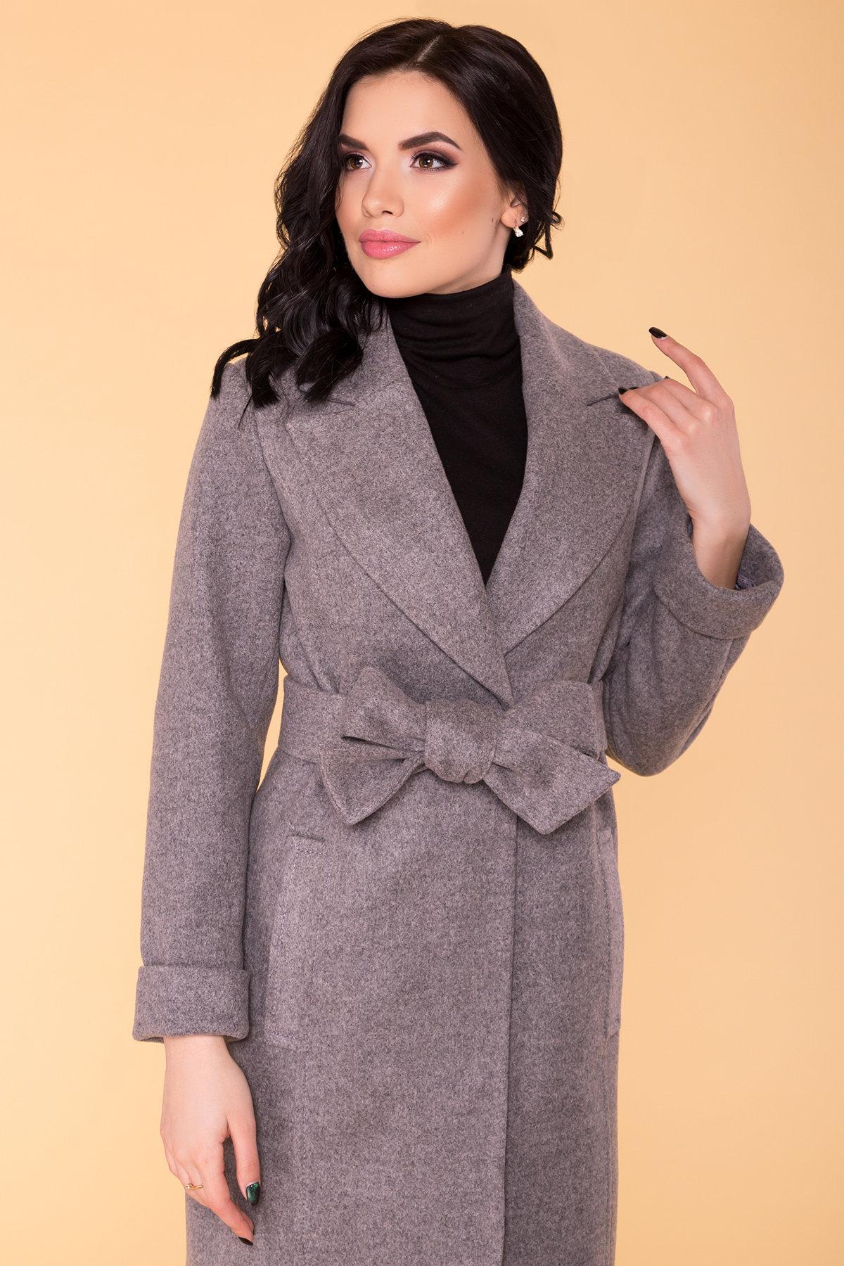 Пальто Лесли 6295 АРТ. 41118 Цвет: Карамель 20/1 - фото 5, интернет магазин tm-modus.ru