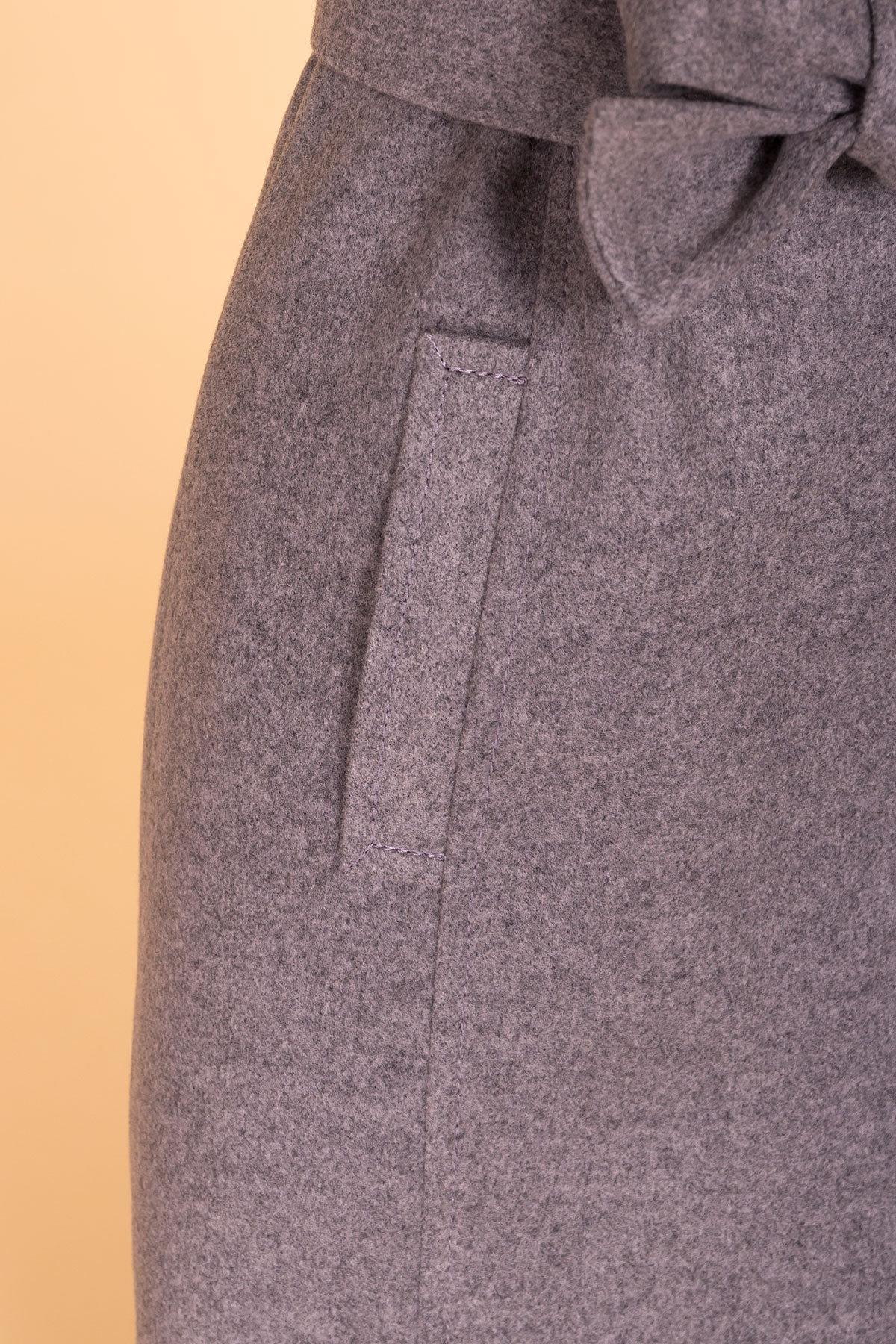 Пальто Лесли 6295 АРТ. 41118 Цвет: Карамель 20/1 - фото 6, интернет магазин tm-modus.ru