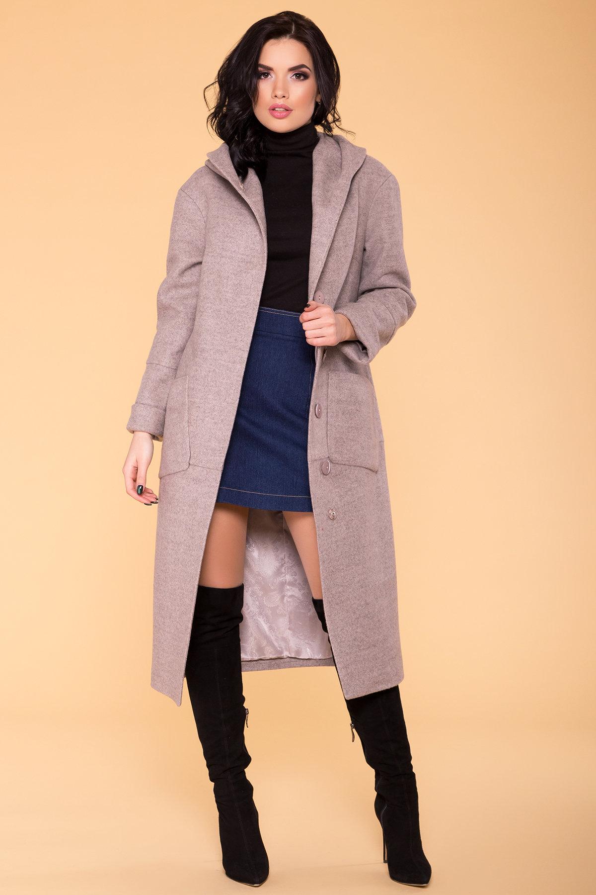 Пальто Анита 5325 АРТ. 37331 Цвет: Бежевый 31 - фото 3, интернет магазин tm-modus.ru
