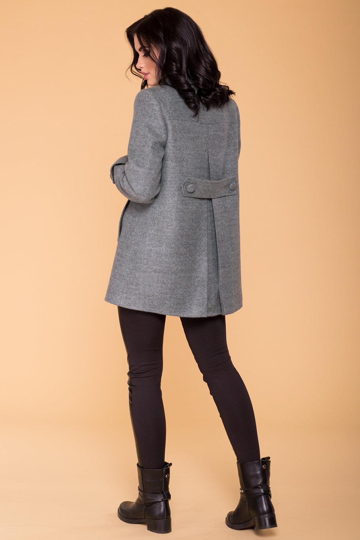 Пальто Нейт 6352 АРТ. 41182 Цвет: Олива - фото 2, интернет магазин tm-modus.ru