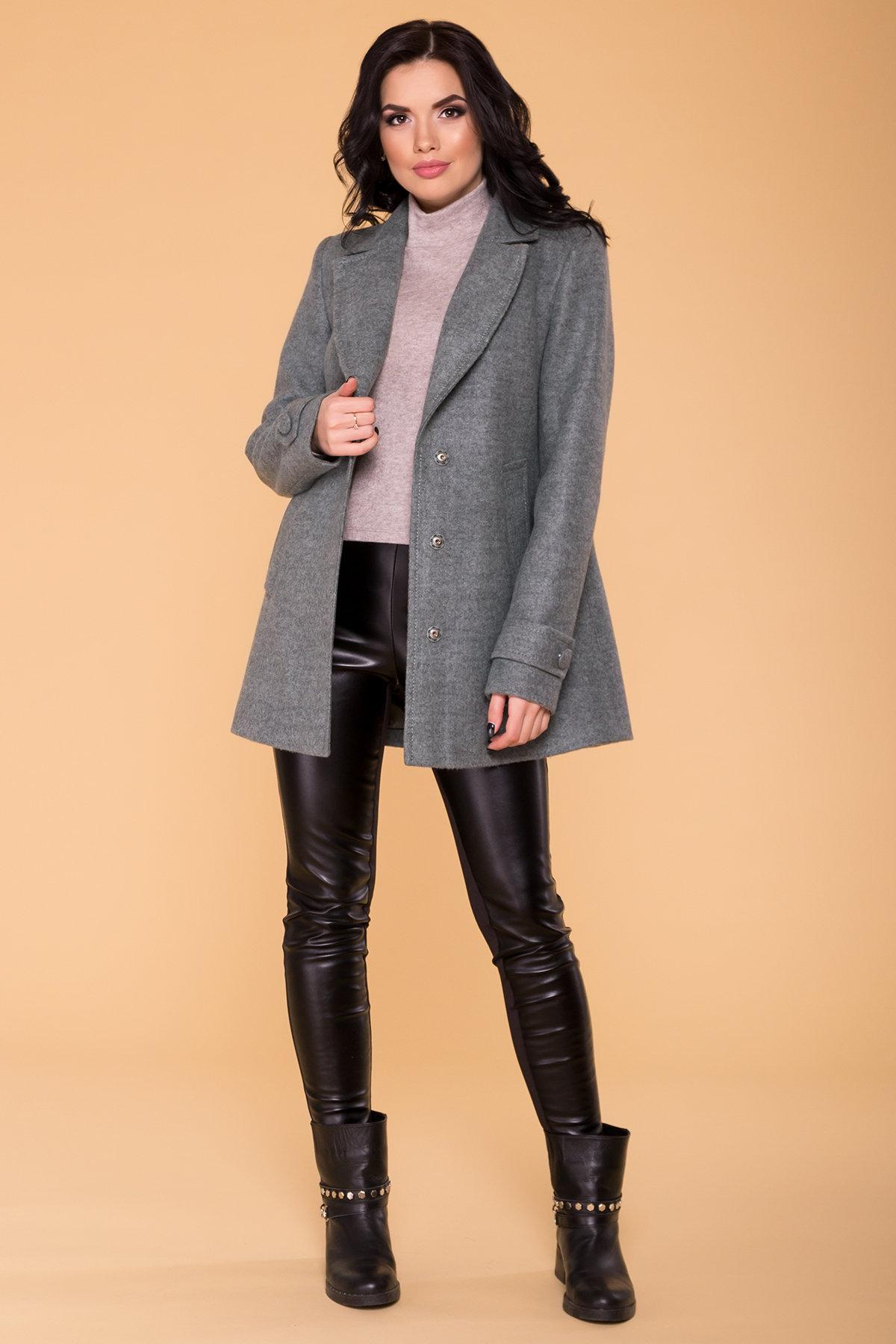 Пальто Нейт 6352 АРТ. 41182 Цвет: Олива - фото 3, интернет магазин tm-modus.ru