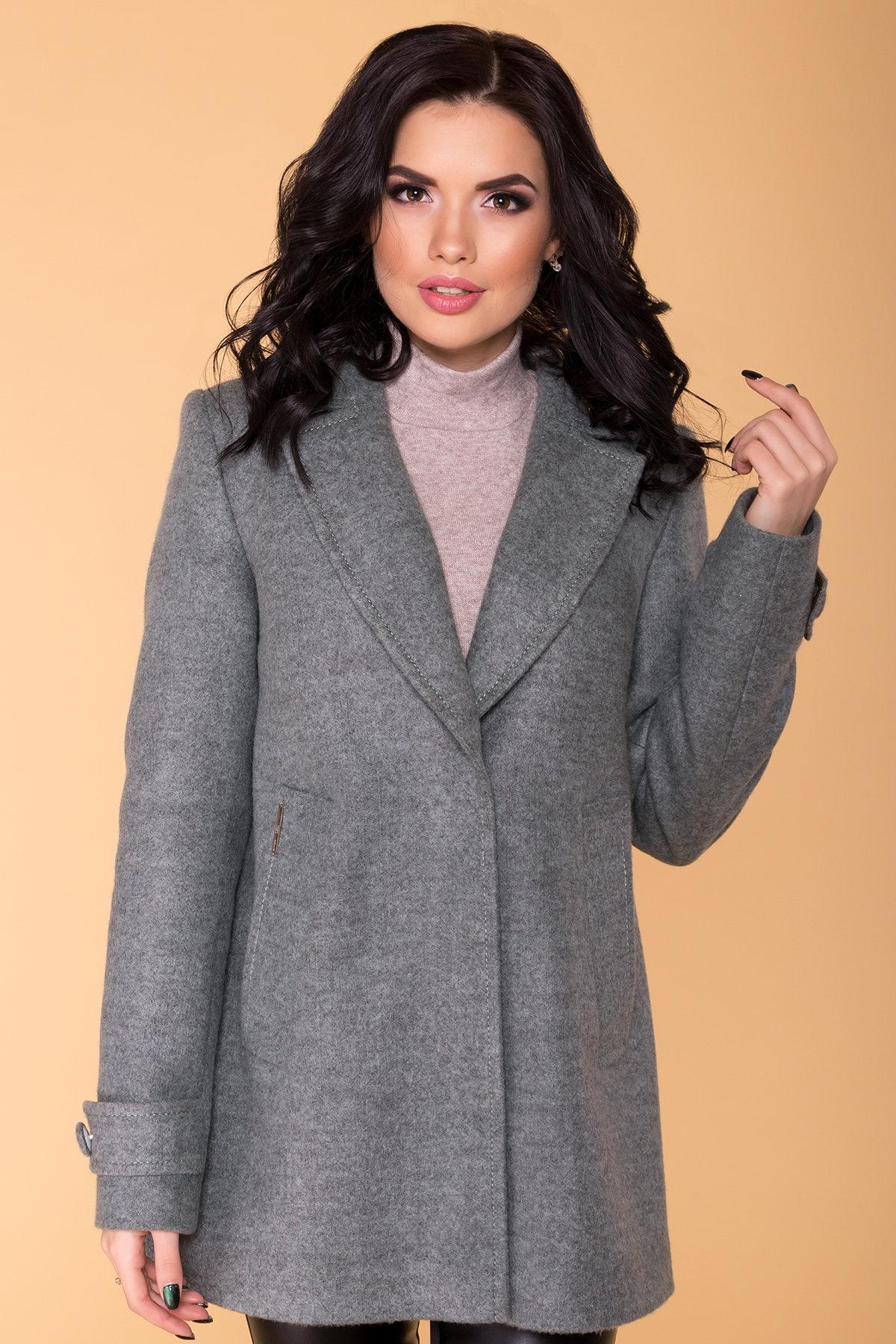 Пальто Нейт 6352 АРТ. 41182 Цвет: Олива - фото 4, интернет магазин tm-modus.ru