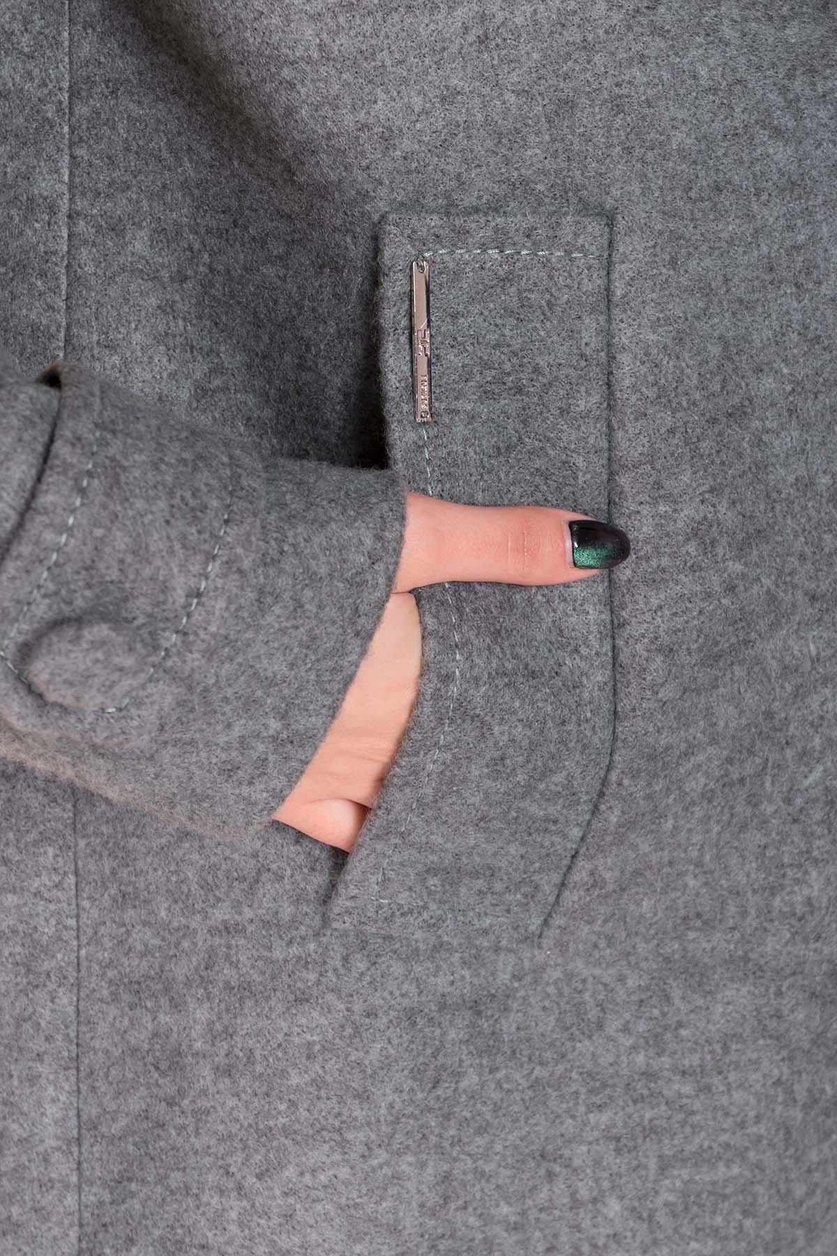 Пальто Нейт 6352 АРТ. 41182 Цвет: Олива - фото 5, интернет магазин tm-modus.ru