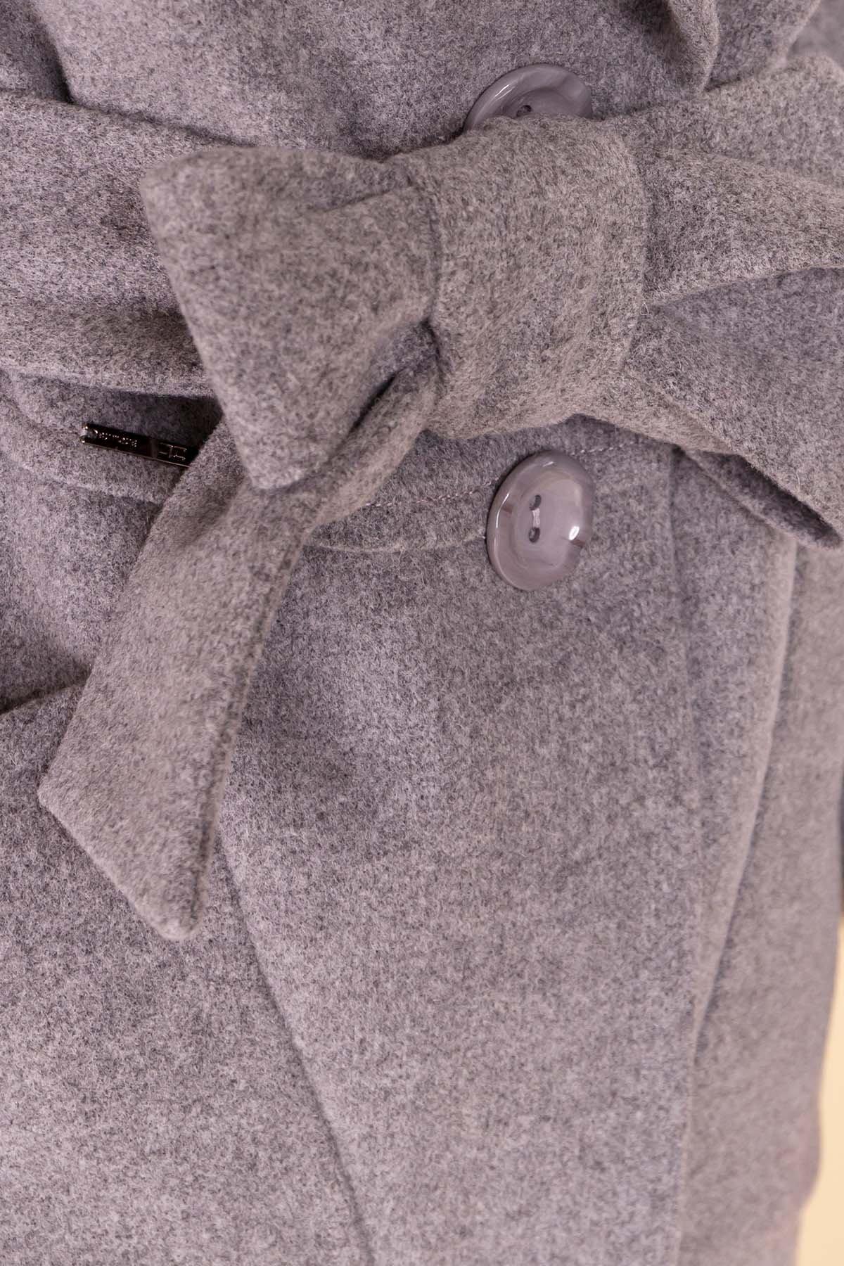 Пальто Габриэлла 4417 АРТ. 21204 Цвет: Серый 18 - фото 6, интернет магазин tm-modus.ru