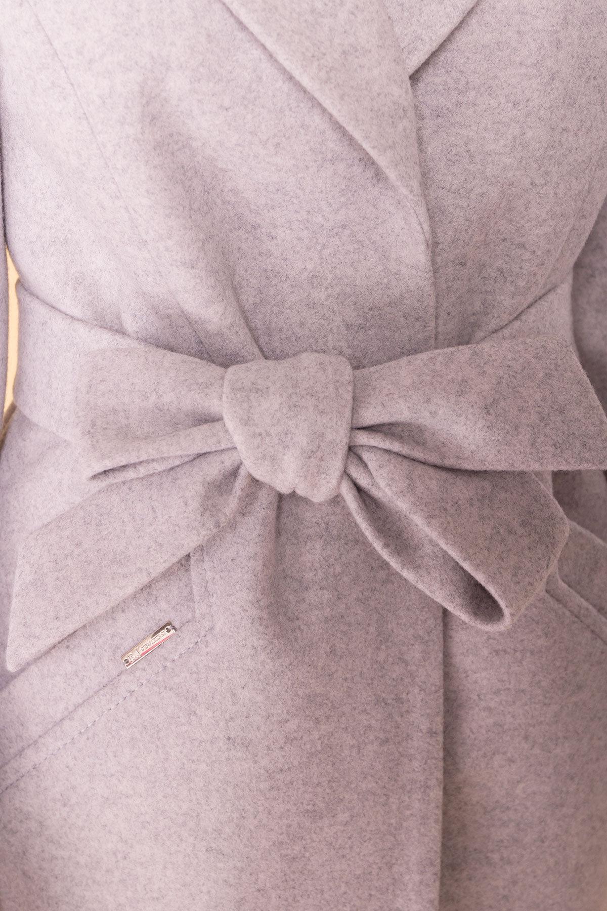Пальто Сорренто 6343 Цвет: Серый Светлый 27