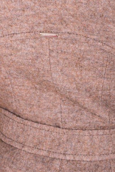 Пальто весна-осень c приспущенной линией плеча Фентези лайт 6365 Цвет: Бежевый 13