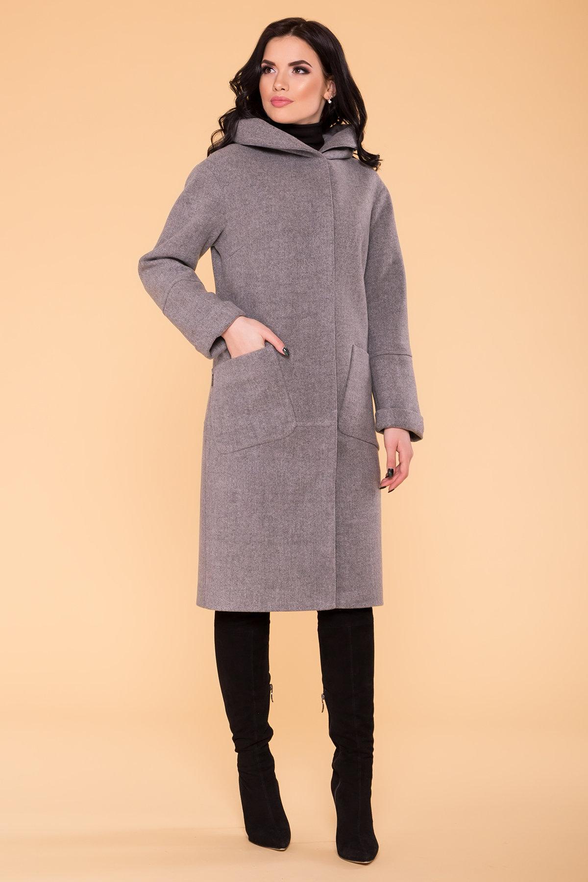 Пальто Анита 4462 Цвет: Серый 18