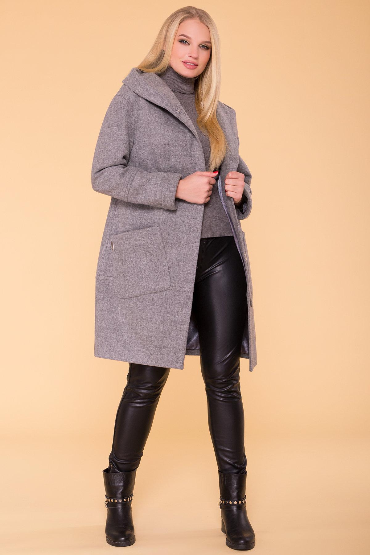 Пальто Анита DONNA 4423 Цвет: Серый 18