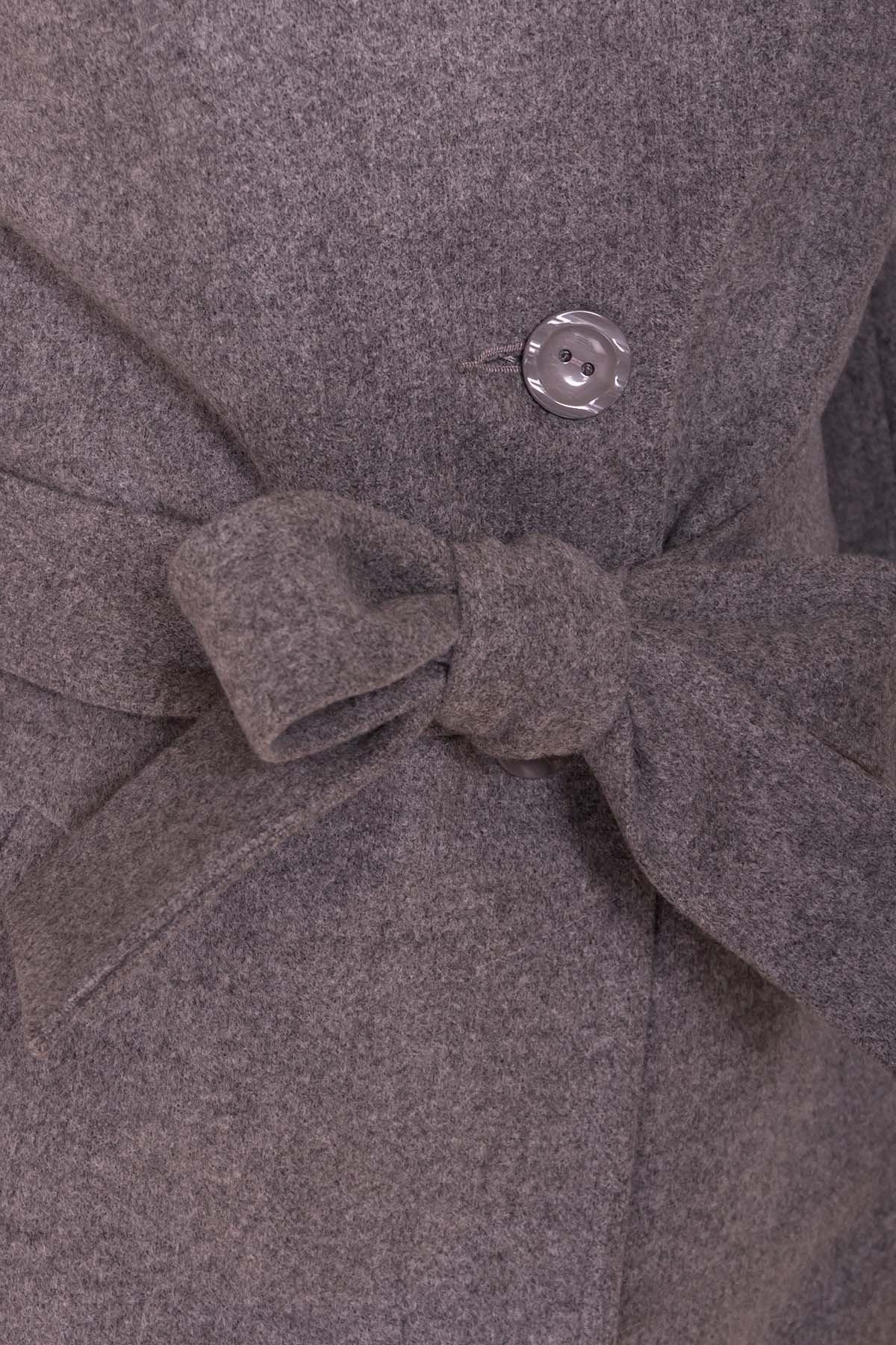 Пальто Габриэлла Donna 6250 Цвет: Серый 18