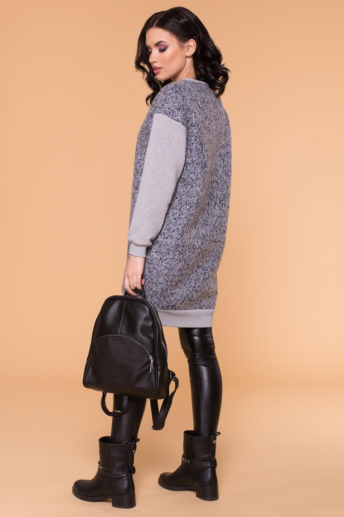 Платье Сорри 6266 АРТ. 41100 Цвет: Серый Св/серый - фото 3, интернет магазин tm-modus.ru