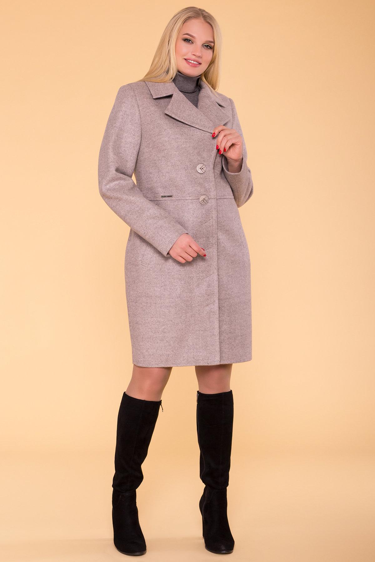 Пальто Габриэлла Donna 6250 Цвет: Бежевый 31
